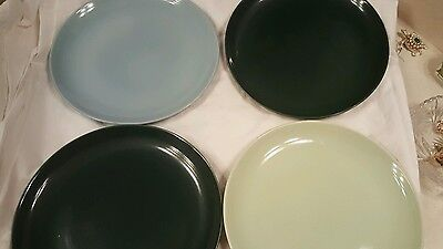 Russel Wright Iroquois Plates Casuals Set of 4 10 Inch Dinner Plates