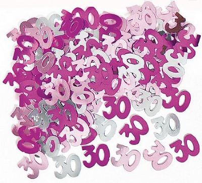 30th birthday party decorations Party Table Decoration Confetti Blue And Silver