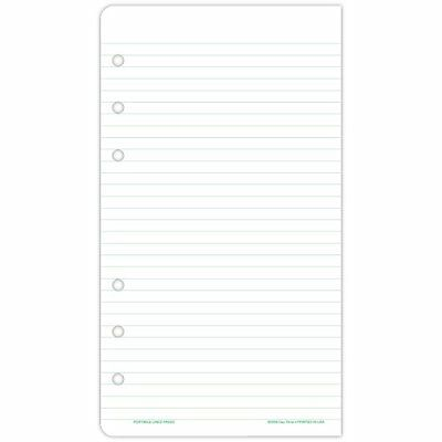 Day-Timer 87128 Lined Note Pads for Organizer, 3 3/4 x 6 3/4