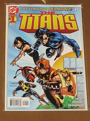 The Titans #1 Nm 1St Appearance Of Damien Darhk Major Villain Cw Arrow Tv Show