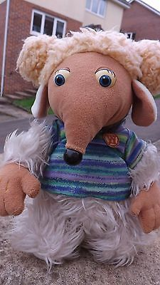 "Alderney Womble Collectable Plush Toy - 10"" High - 1998 - Elizabeth Beresford"