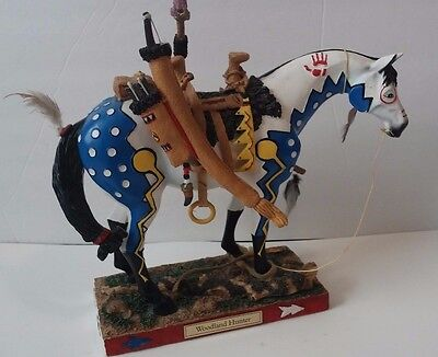 Trail Of Painted Ponies Limited Edition Woodland Hunter #12385 1.867 Of 5000