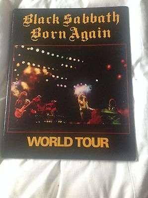 BLACK SABBATH BORN AGAIN CLASSIC TOUR PROGRAMME program EXCELLENT Osbourne Iommi