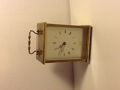 Vintage Junghans Meister Ato-Mat Brass Carriage Clock