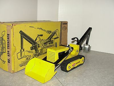 VIntage Tonka Trencher Loader in the Box - Original Condition