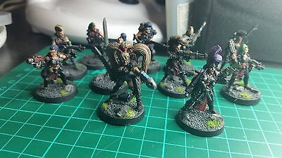 necromunda escher gang 10 plus mad dona and rule book