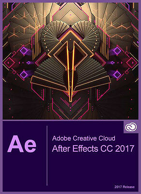Adobe After Effects Cc 2017 Mac/windows