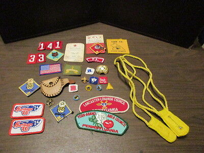 Lot of Vintage Boy Scouts of America Patches - Badges - BSA - Camp Badges