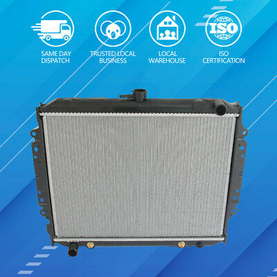 RADIATOR for HOLDEN RODEO TF G1 G3 G6 G7 2.6 PETROL 4CYL 1987-1997 +CAP +COOLANT