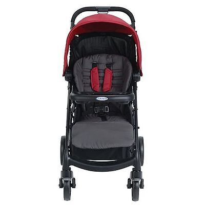 Graco Verb Click Connect Stroller ~~ Chili Red ~~ Brand New !!!