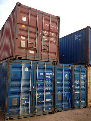 20ft / 6m 8'6ft High GP shipping container B Grade