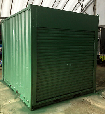 10ft /3m long approx 8'6 High shipping container / storage shed with roller door