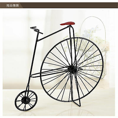 Retro Vintage Style Creative Metal Bicycle Bike Model Home Decor Table Ornament