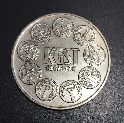 Hungary 1974 100 Forint Silver coin KM #602 20,000 minted!