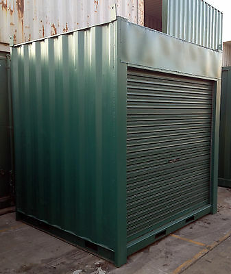 6'9ft 2m approx 8'6 General Purpose shipping container / Portable storage shed