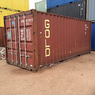 20ft / 6m 8'6ft High General Purpose shipping container A Grade