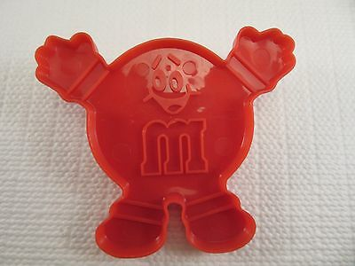 """Advertising Cookie Cutter - 3"""" Red M&M Character"""