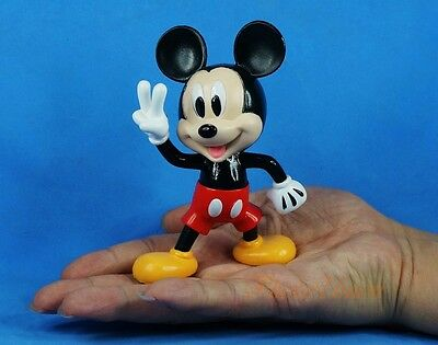 "Cake Topper Decor Toy Model 4.3"" Disney Mickey Victory Figure Decoration A619"