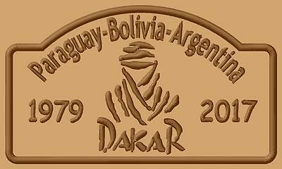 Dakar logo 2017  ecusson brodé patche Thermocollant iron-on patch