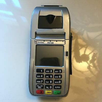 First Data FD 130 EMV Credit Card Terminal