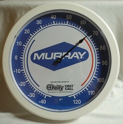 Vtg Murray Advertising Thermometer OReilly First Call Indoor Outdoor Trintec