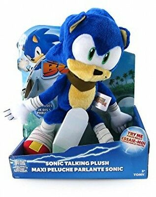 Sonic the Hedgehog Boom 12-Inch Talking Plush Toy