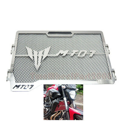 Radiator Grille Guard Cover Protector for Yamaha MT07 FZ07 2013-2016 New BLACK