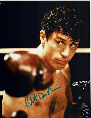 Robert De Niro American Actor Raging Bull Hand Signed Photograph 10 x 8