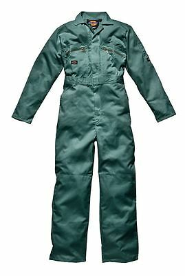 Dickies WD4839 Redhawk Zip Front Coverall New Overall Mens Overall Boilersuit