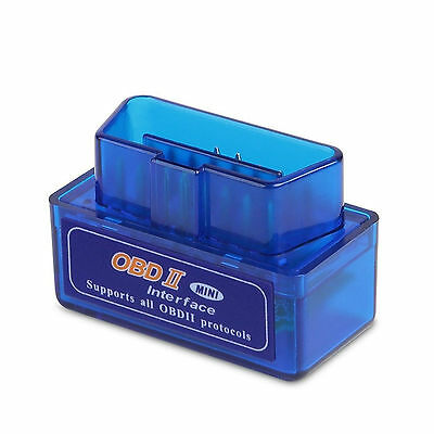 Bluetooth Mini ELM327 V1.5 OBD2 Auto Diagnostic Interface Code Scanner Android