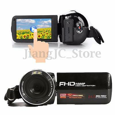 3.0'' Digital Anti-shake 16X Zoom Full HD 1080P 24MP Camera DV Camcorder HDMI AU
