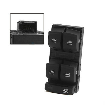 ABS Electric Power Window Master Switch For 2005-2012 Audi A3 A6 S6 Q7 ST