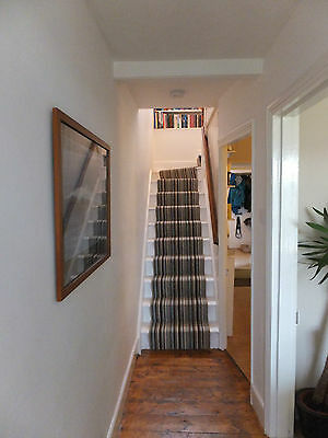 Striped stair carpet, Extra hard wearing 6mts x 65cm wide. Great quality.