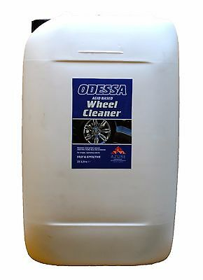 Wheel Cleaner 25L - Odessa - Acid Based - 48 Hour Delivery - Professional Use
