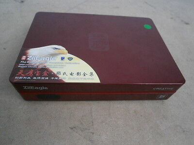 Creative ZiiEagle Movie Box * 668 MOVIES * 3000 Years Chinese Culture + REMOTE !