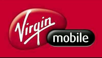 Virgin Mobile $30 FASTEST REFILL card Credit applied DIRECTLY to PHONE **NO TAX