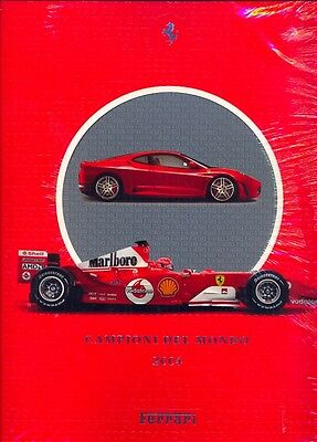 Ferrari 2004 - OFFICIAL YEARBOOK -BRAND NEW AND SHRINKWRAPPED!!