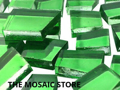 Green Irregular Mirror Glass Tiles - Art & Craft Mosaic Supplies