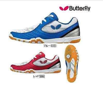 Butterfly butterfly table tennis shoes men and women training 93470 non slip bre