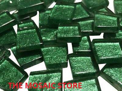 Green Irregular Metallic Glass Tiles - Art & Craft Mosaic Supplies