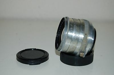 Jupiter-8, 2/50 mm Lens. 39mm Screw Mount (LTM) With Caps. 5459166. UK Sale