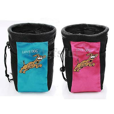 Adjustable Pet Dog Puppy Training Pouch Packet Shoulder Snack Feed Treat Bag