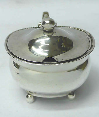 Georgian Silver Mustard Pot 1813 William Hall stock id 7181