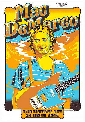 "MX16676 Mac DeMarco - Canadian Pop Singer Songwriter Music Star 14""x19"" Poster"