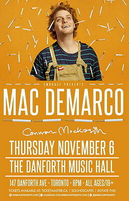 "MX16573 Mac DeMarco - Canadian Pop Singer Songwriter Music Star 14""x21"" Poster"