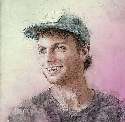 "MX16648 Mac DeMarco - Canadian Pop Singer Songwriter Music Star 14""x14"" Poster"