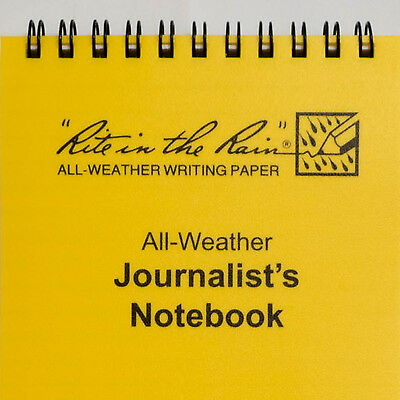 "Rite in the Rain 4"" x 8"" All Weather Notebook Journal Tactical Outdoor Notepad"