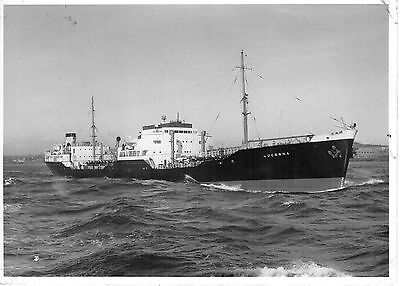 """LUCERNA 1952 H.E.Moss Tankers Commercial Photographers Trials Photo 6"""" x 4.5"""""""
