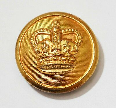 HM Customs and Excise Gilt 23 mm Button