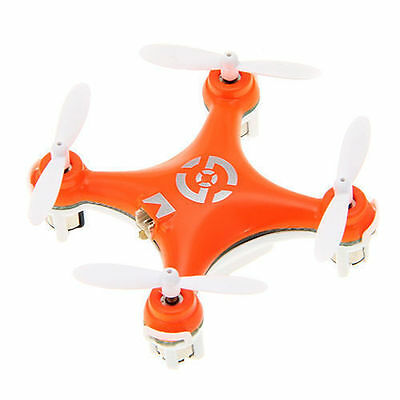 New Cheerson CX-10 Mini 29mm 2.4Ghz 4CH 6-Axis Gyro RC Quadcopter UFO Drone Toy